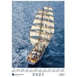 Kalendarz jednodzielny 2021
